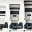 フジフイルム X-H1+XF200mm レンズ装着状態でライバルカメラとの大きさ比較(fujiaddict)