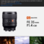 SONY FE GM 35mm F1.4 GM